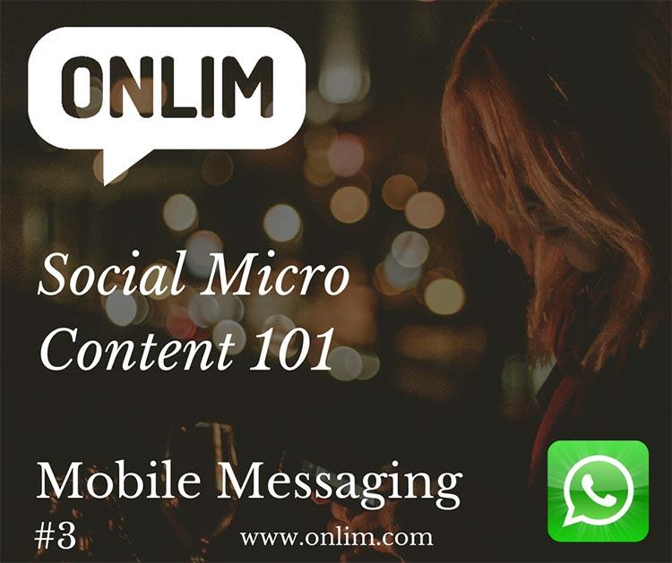 Social-Micro-Content-Onlim-Mobile-Messaging