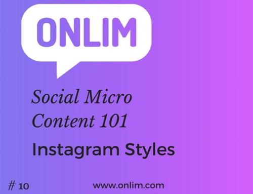 Instagram Styles | Social Micro Content 101 | Tipp 10