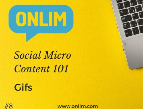 GIFs for Social Media | Social Micro Content 101 | Tip 8