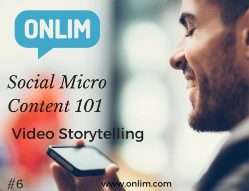 Video Storytelling | Social Micro Content 101 | Tipp 6