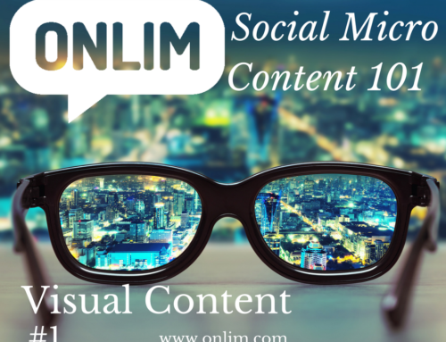 Social Micro Content 101 | Tip 1 | Visual Images