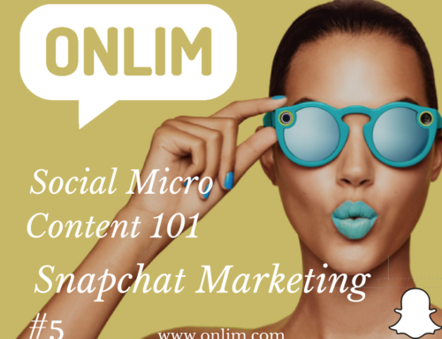 Social Micro Content 101 | Tip 5 | Snapchat for Marketing