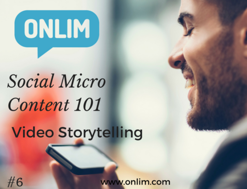 Social Micro Content 101 | Tip 6 | Video Storytelling