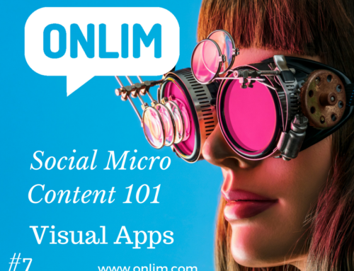 Social Micro Content 101 | Tip 7 | Visual Apps