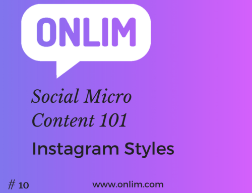 Social Micro Content 101 | Tip 10 | Instagram Styles
