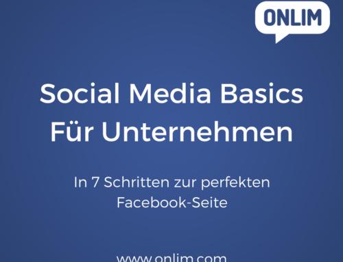 In 7 Schritten zur perfekten Facebook-Seite