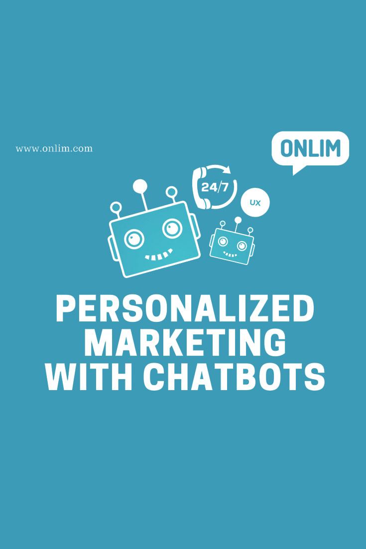 Lots of bots fail to deliver an excellent or even good user experience. Personalisation is key to successful marketing with chatbots!