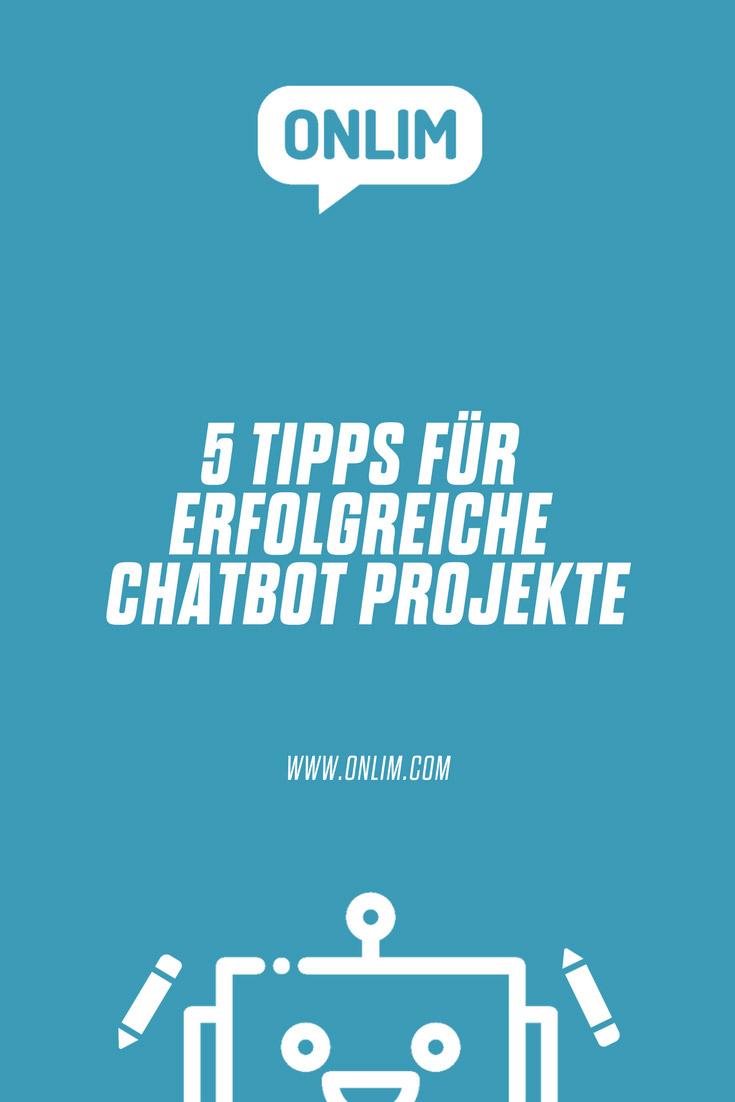 Was ist zu beachten um Chatbot Projekte erfolgreich abzuschließen? Hier beschreiben wir 5 Key Facts die solche Projekte zum Erfolg bringen.