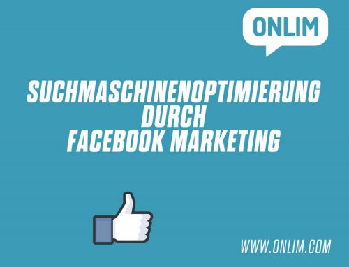 Suchmaschinenoptimierung durch Facebook Marketing