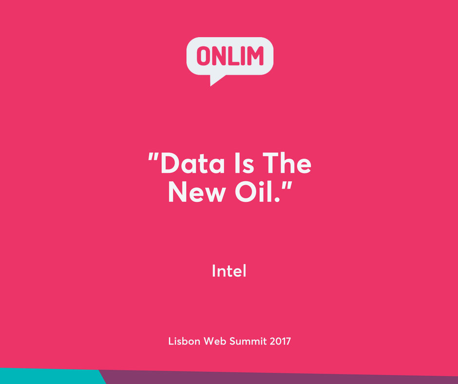 Data is the new oil.