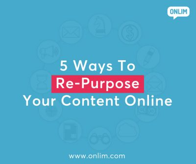 Ways to re-purpose your content online