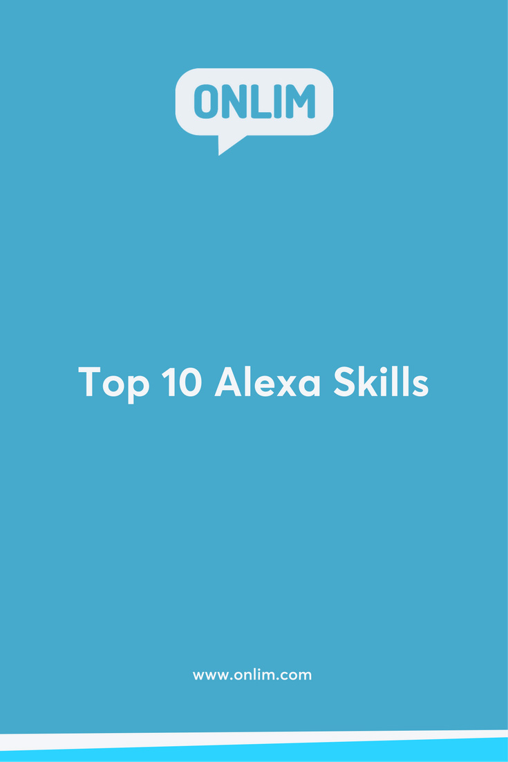Amazon's intelligent personal assistant has a wide range of skills to offer already! Here are our current Top 10 Alexa Skills for your everyday life.