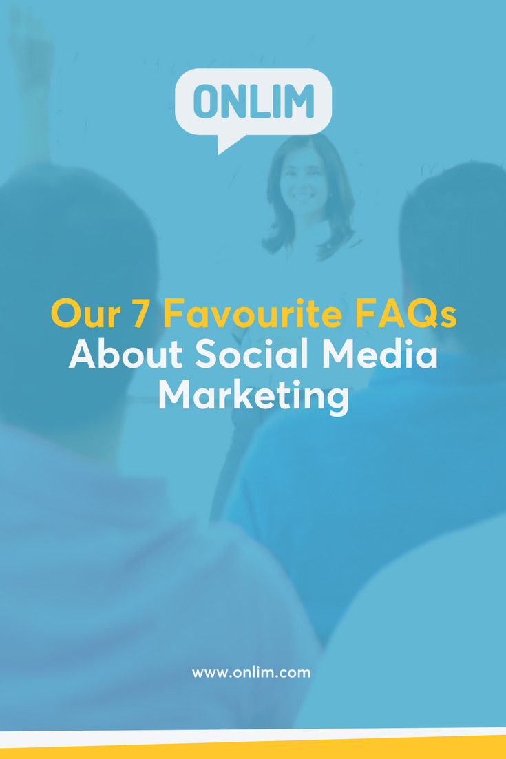 What's the best time and content to post on social media? How much does it cost? We've answered seven of our favourite FAQs about social media marketing for you.