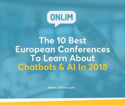 The best european chatbot & AI conferences