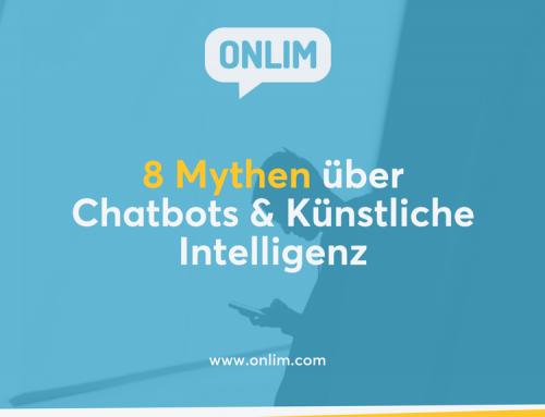 8 Mythen über Chatbots & Künstliche Intelligenz