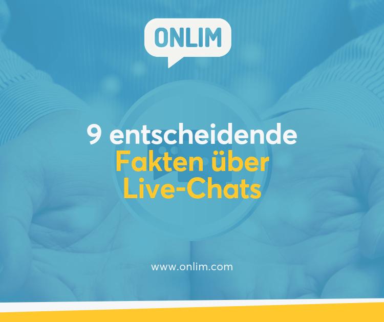 9 Fakten über Live-Chats
