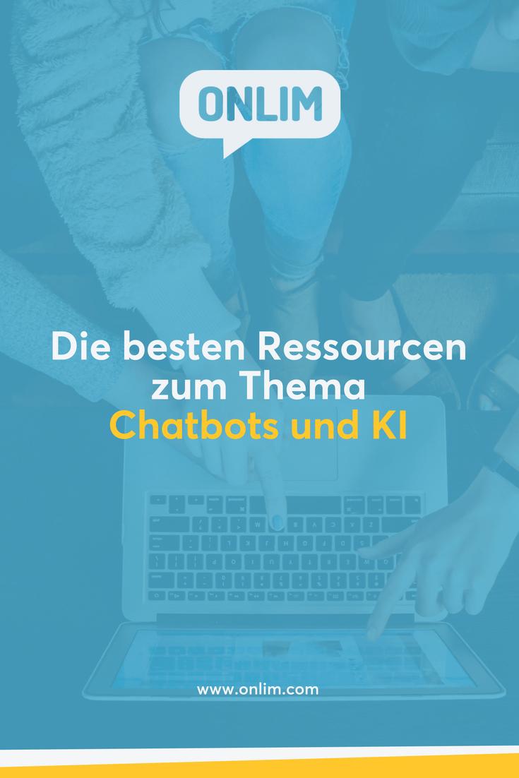 Möchtest mehr über Chatbots und künstliche Intelligenz erfahren? Hier eine Liste mit den besten Ressourcen zum Thema Chatbots und KI für Unternehmen.