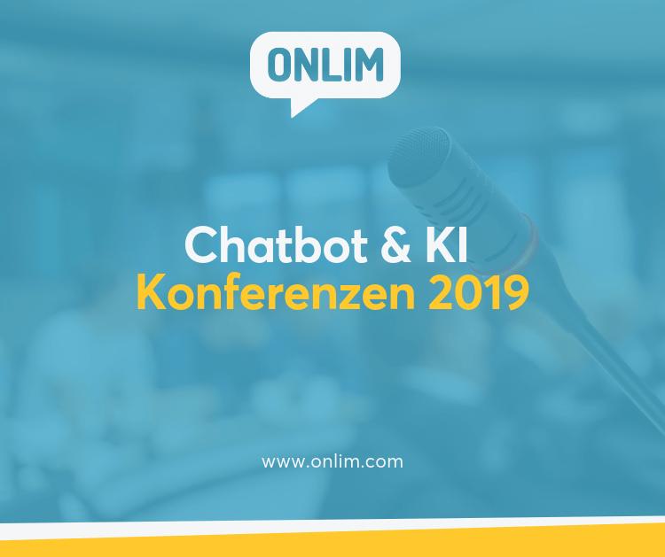Chatbot und KI Konferenzen 2019