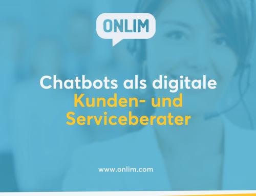 Chatbots als digitale Kunden- und Serviceberater