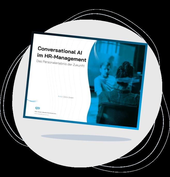Conversational AI im HR-Management_Ein E-Book von Onlim-E-Mail