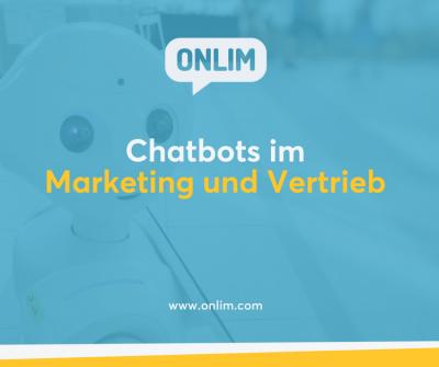 Anwendungsfälle für Chatbots im Marketing und Vertrieb