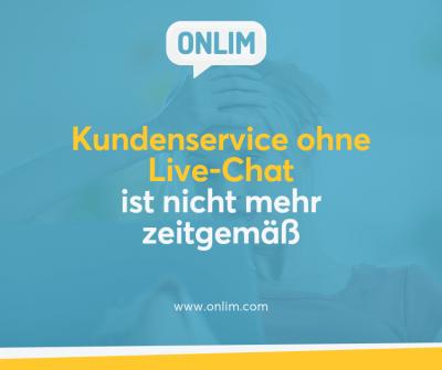 Live Chat für den Kundenservice