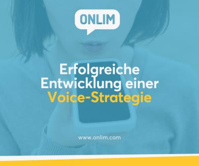 Entwicklung einer Voice-Strategie