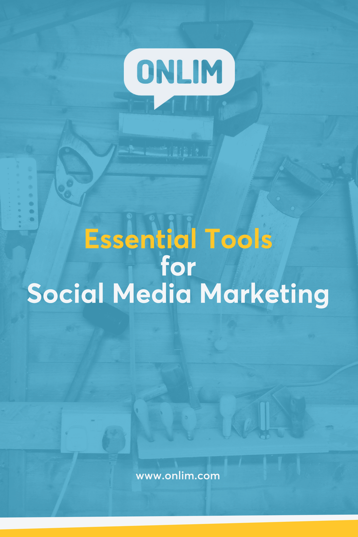 Don't we all love great tools that help us work efficiently?! Here's a list with the essential tools every social media marketer should be using.