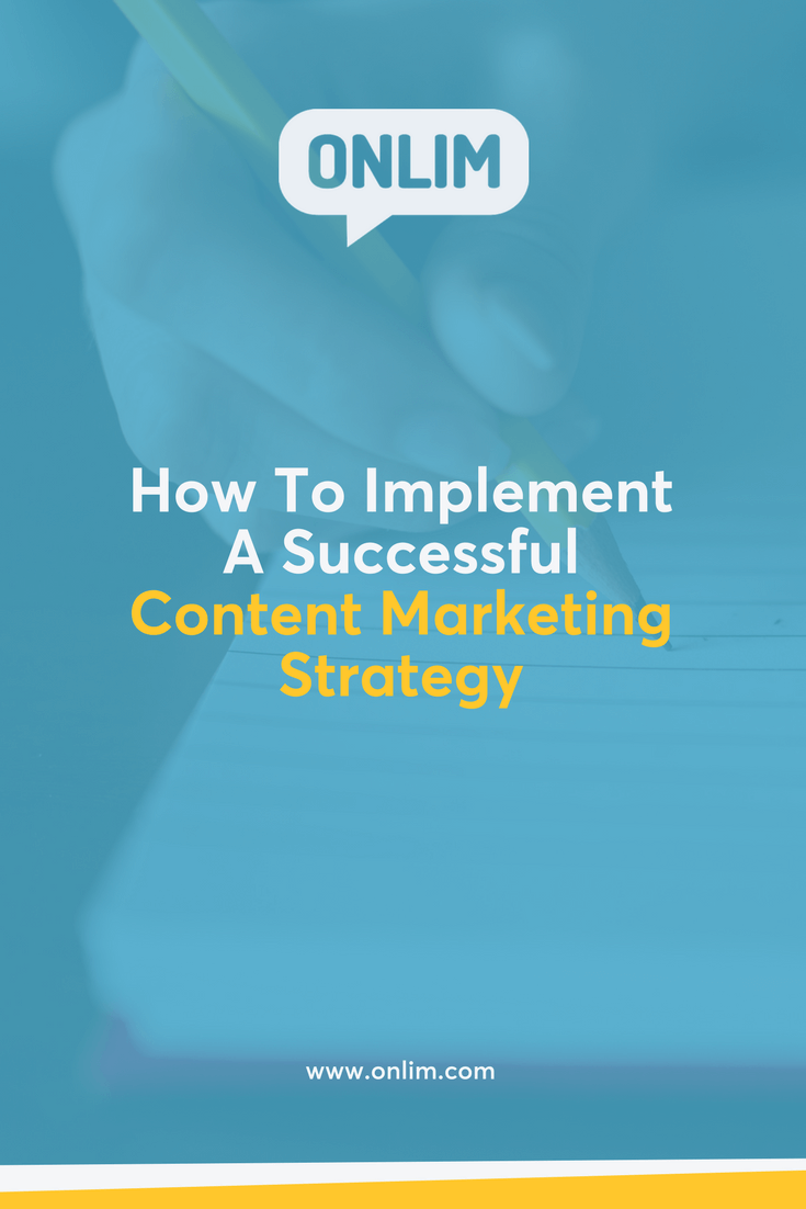 You want to implement a successful content marketing strategy for your business? These are the most important things you have to pay attention to...