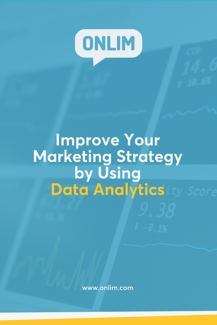 Skip the guesswork and focus on data driven decision-making processes. Here are several ways to improve your marketing strategy by using data analytics.