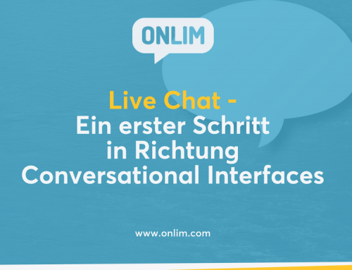 Live-Chat – ein erster Schritt in Richtung Conversational Interfaces