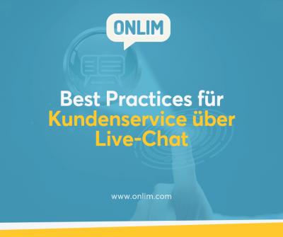 Best Practices für Kundenservice über Live-Chat
