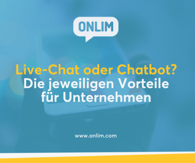 Live Chat oder Chatbot