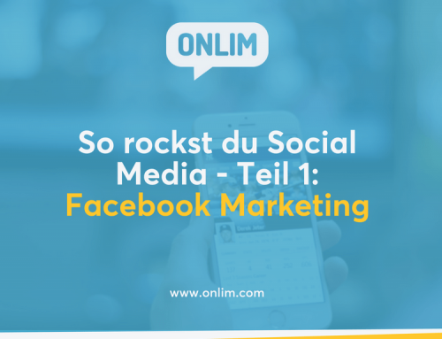 So rockst du Social Media – Teil 1: Facebook Marketing