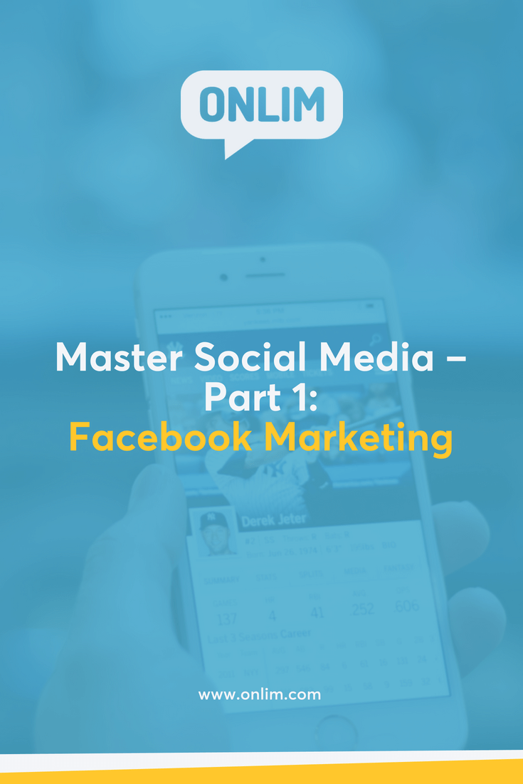 Just getting started with social media for your business? No worries - better late than never. ;) Here you'll learn everything you need to know about Facebook marketing.