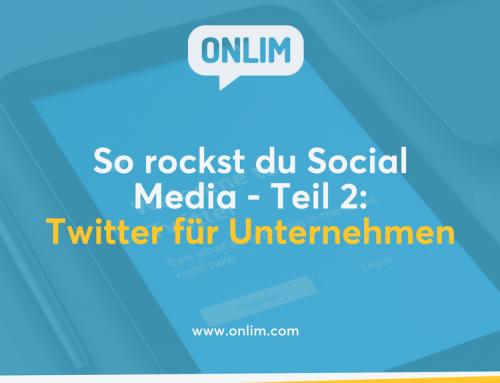 So rockst du Social Media – Teil 2: Twitter für Unternehmen