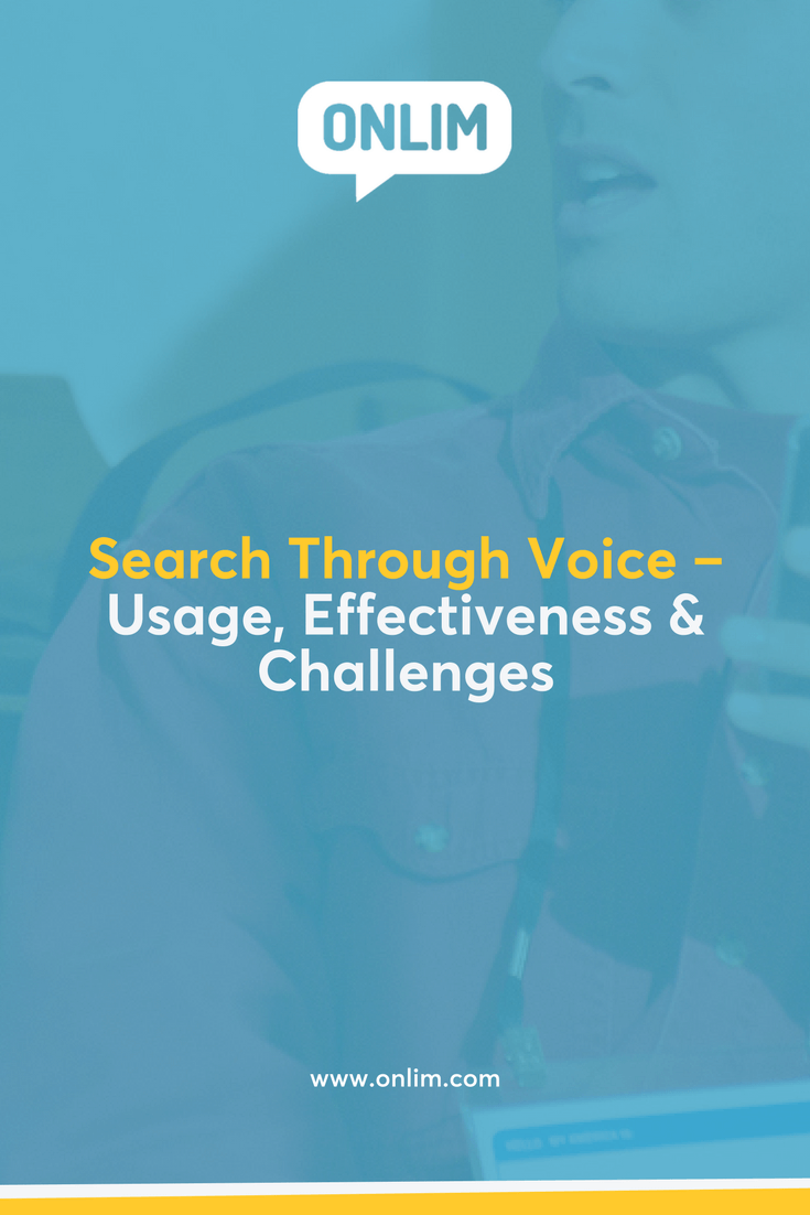 Over 20% of all mobile searches are done by voice. What do we use voice search for, how effective will it be and what are possible challenges?