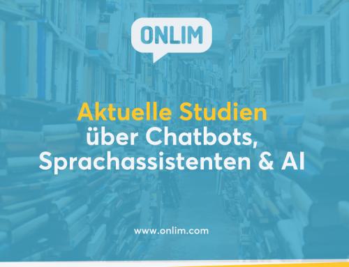 Aktuelle Studien über Chatbots, Sprachassistenten & AI