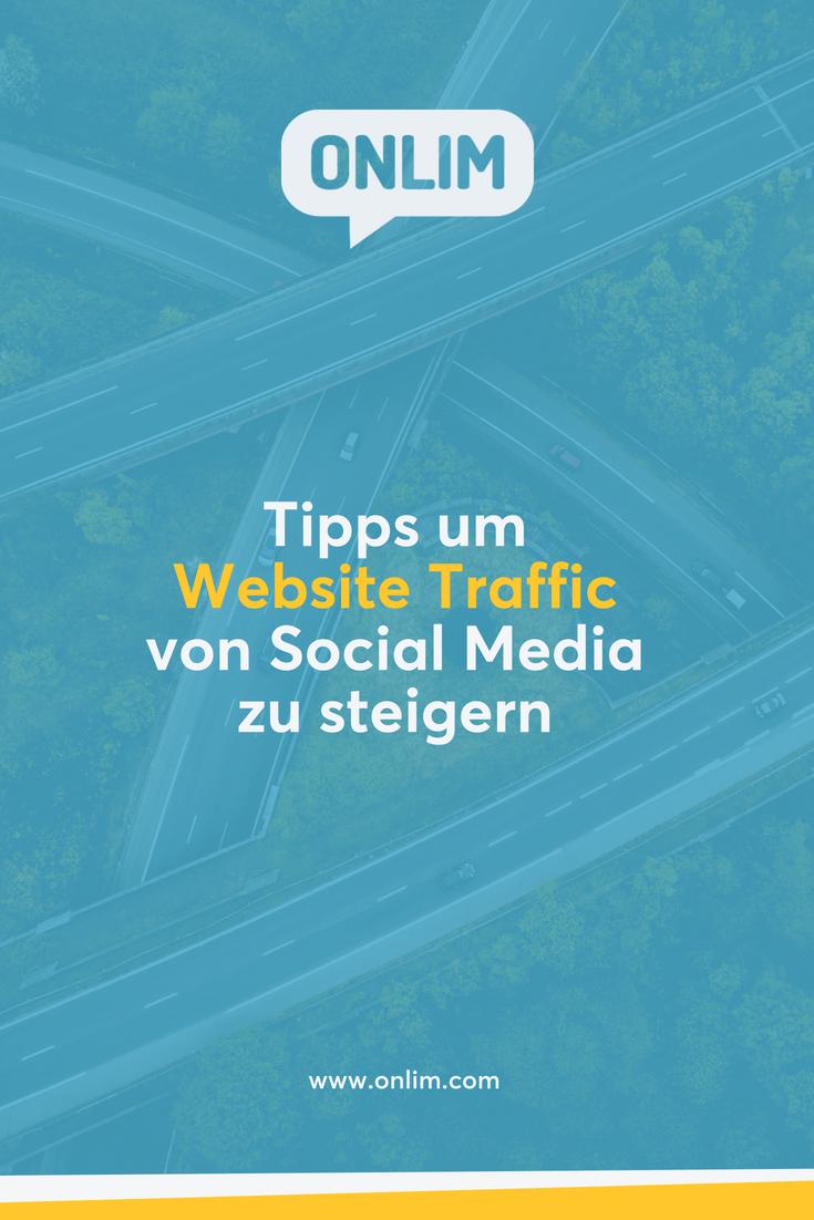 Social Media ist für viele Unternehmen mitunter den besten Traffic-Drivern. Mit der richtigen Strategie ist das auch für dein Unternehmen möglich! Hier unsere Top Tipps um Website Traffic von Social Media zu steigern.