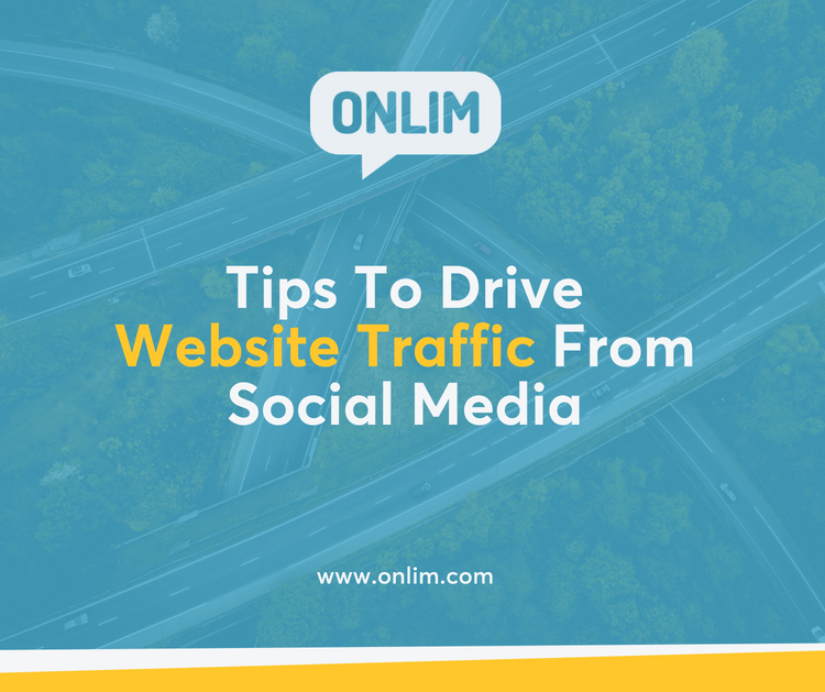Tips to drive website traffic from social media