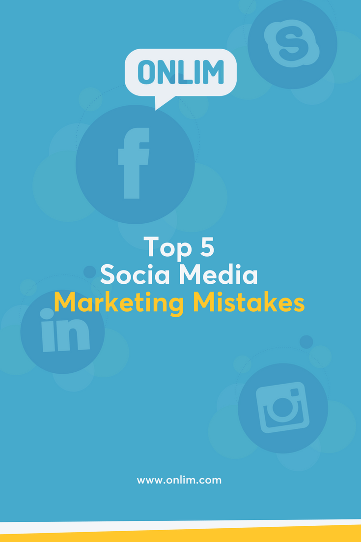 It goes without saying that social media has become incredibly important for business. However, there is a huge difference between just doing it and doing it right! Here are the top 5 social media marketing mistakes and how to avoid them...