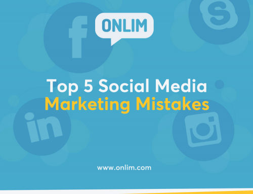 How To Avoid The Top 5 Social Media Marketing Mistakes