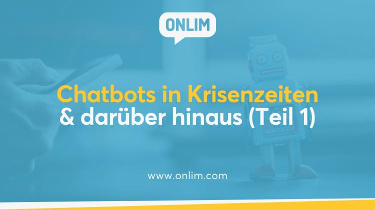 Chatbots in Krisenzeiten (COVID19)