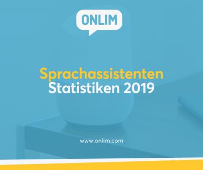 Sprachassistenten Statistiken 2019