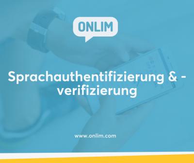 Sprachauthentifizierung und -verifizierung