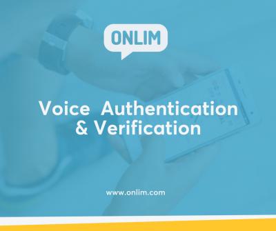 Voice Authentication & Verification