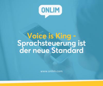 Sprachasteuerung ist der neue Standard