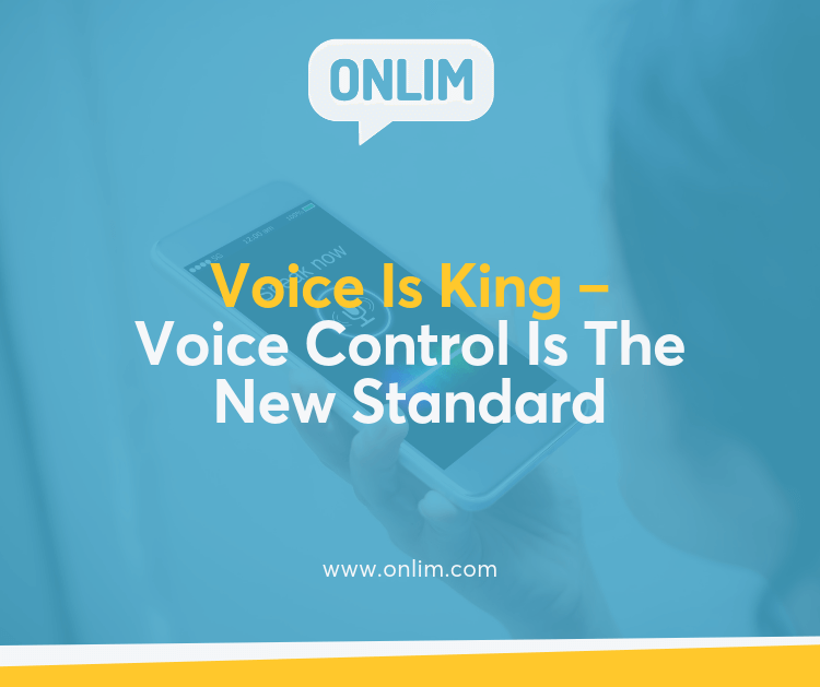 Voice Control Is the New Standard