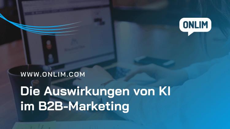 KI im B2B Marketing