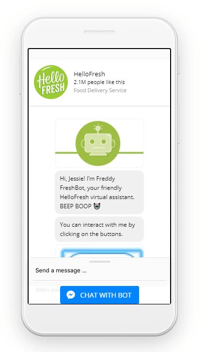 hellofresh bot